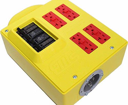 Gms Pdc 30 Amp Portable Power Box No Cords Or Bag