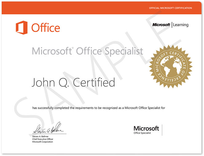 certification for microsoft office - Boatjeremyeaton - certificate microsoft