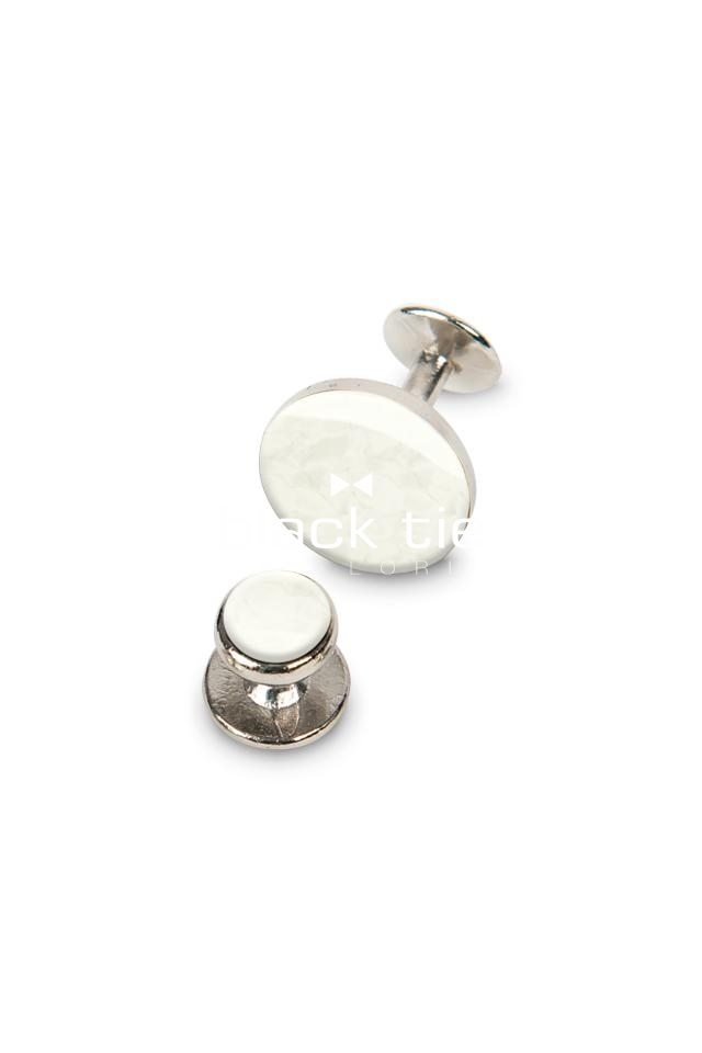 White/Gold Premium Jewelry - Online Tuxedo Rental