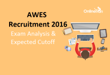 AWES Exam Analysis 2016