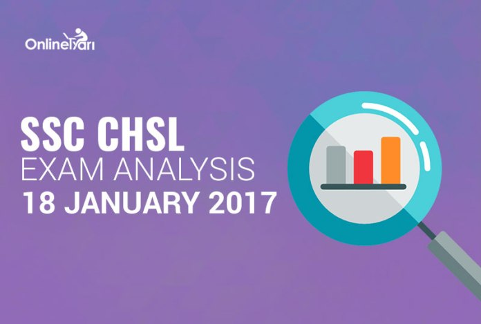 SSC CHSL 18th January Exam Analysis