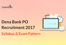 Dena Bank PO Syllabus Exam Pattern 2017: Check Here