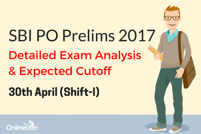 SBI PO 30th April Prelims Exam Analysis, Shift 1 Paper Review