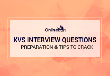 KVS Interview Questions, Preparation & Tips to Crack