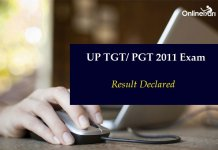 UP TGT/ PGT 2011 Result Declared: List of Candidates Shortlisted for Interview