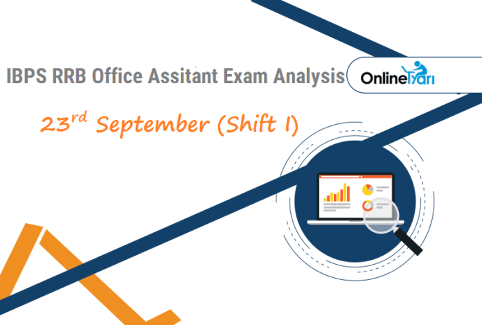 IBPS RRB Assistant Exam Analysis | 23rd September- Shift 1