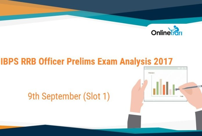 IBPS RRB Officer Prelims Exam Analysis, 9th September Slot 1