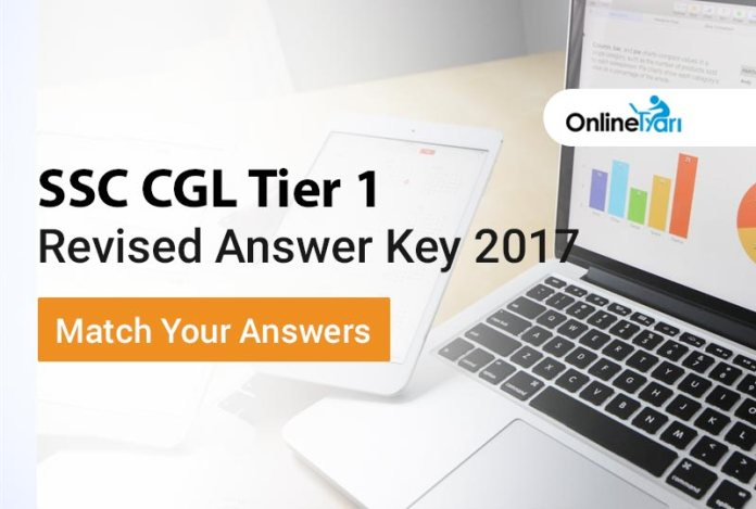 SSC CGL Tier 1 Revised Answer Key 2017: Match Your Answers