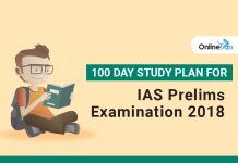 100 Day Study Plan for IAS Prelims Examination 2018