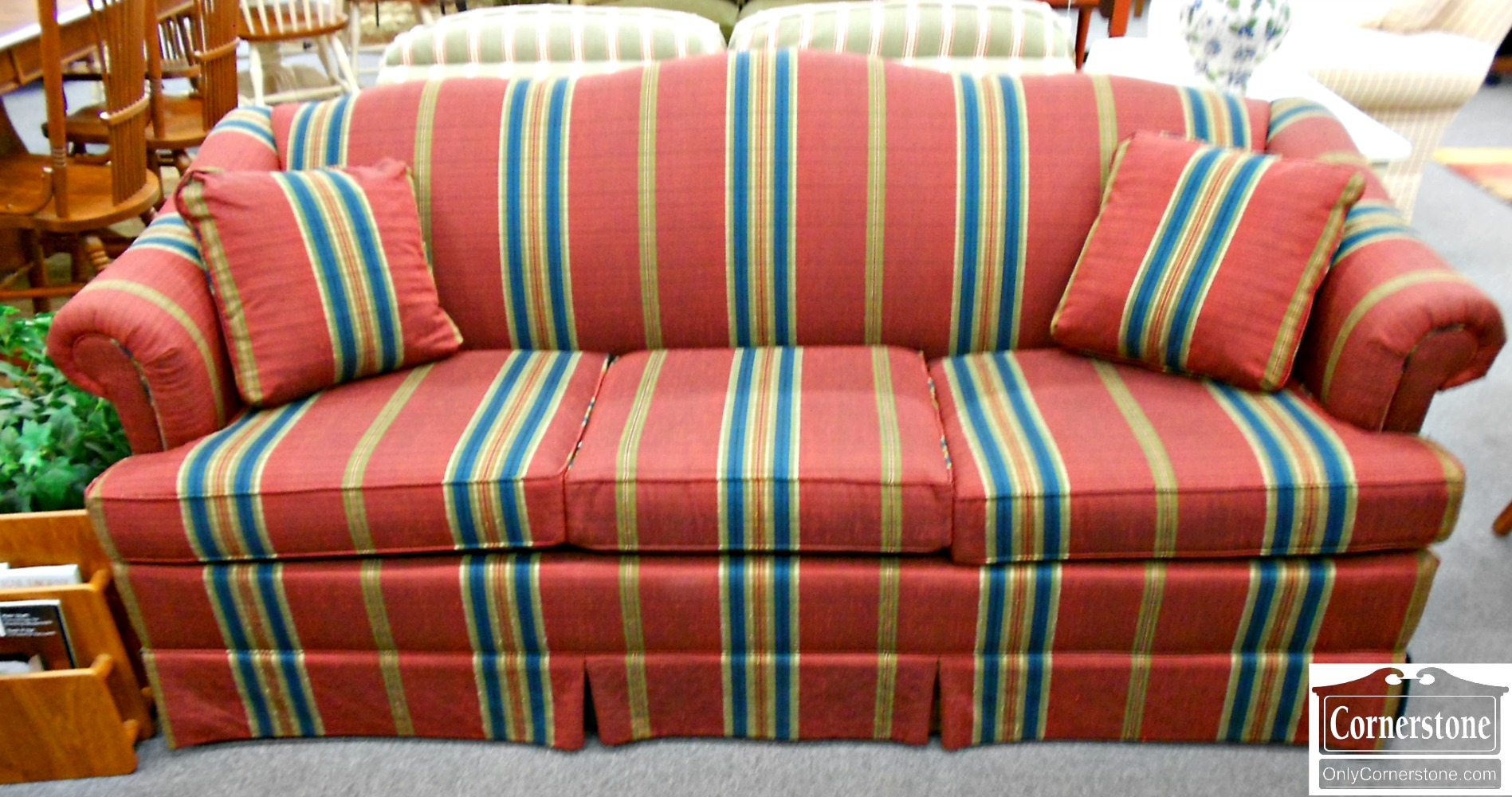 Red Striped Chair Baltimore Maryland Furniture Store Cornerstone Page 3