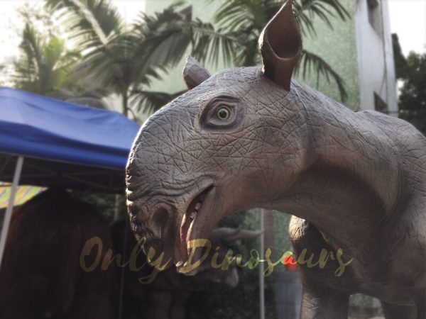 史前 - 动物 -  animatronic-paraceratherium-for-museum5