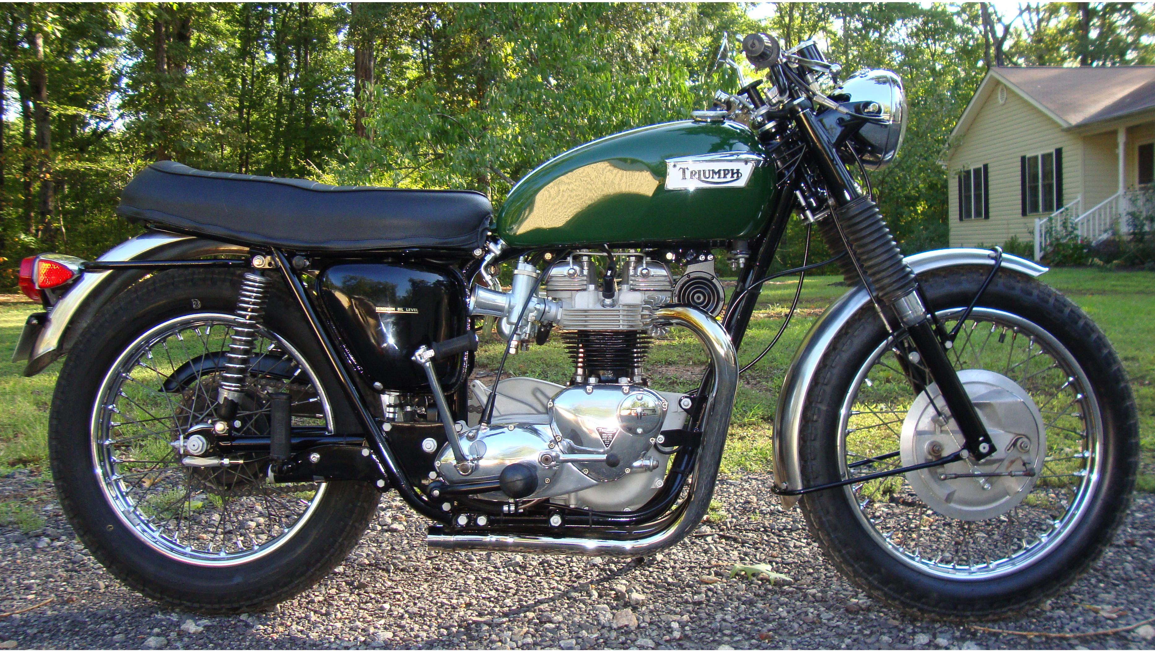 Jb Lighting Usa 1970 Triumph Trophy 650 Pic 10 Onlymotorbikes