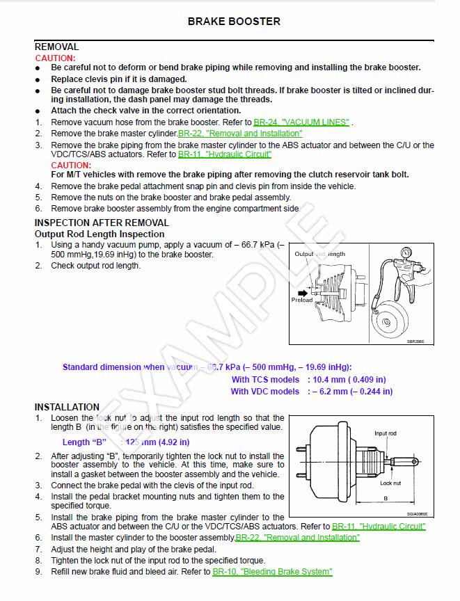 Mazda Bravo B2200 Series Repair Manual