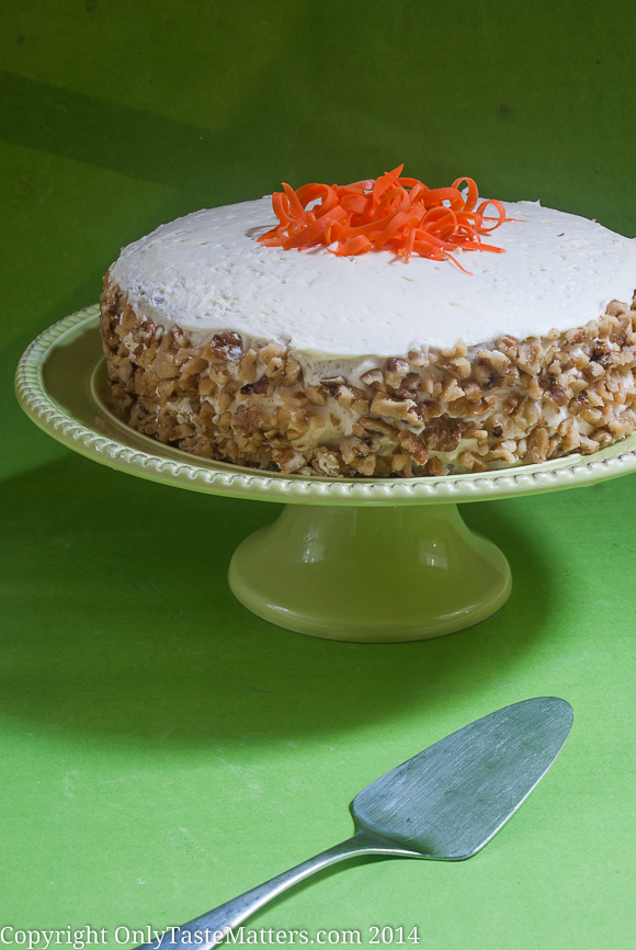 Classic #CarrotCake with Cream Cheese Frosting. So moist and delicious! #GlutenFreeBaking #DessertRecipes #ontheblog