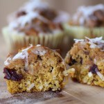 Pumpkin Sunrise Muffins | Savoring Saturdays