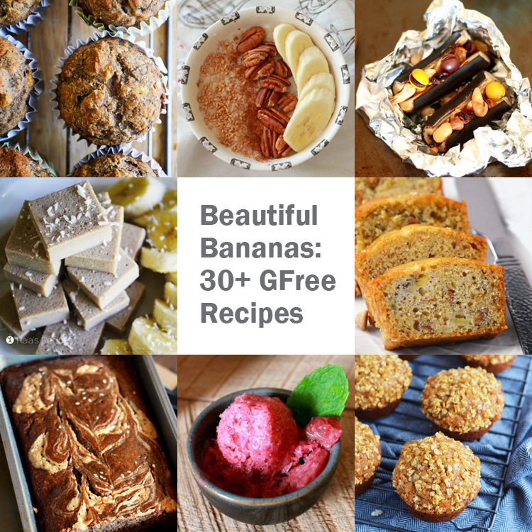 Beautiful Bananas: 30+ Gluten-Free Recipes | Only Taste Matters