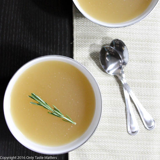 Building a Paleo Pantry: Beef Bone Broth | Only Taste Matters
