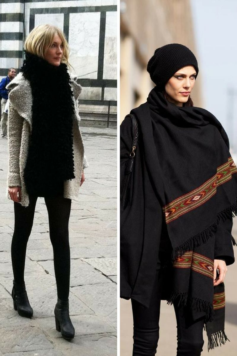 How To Wear Scarves This Winter 2019