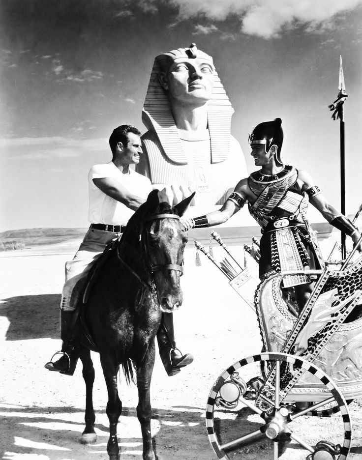 Images from On Set of Ten Commandments (1956) » ShotOnWhat? Behind