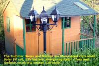 12v Garden Lighting and Summer House Solar PV Project