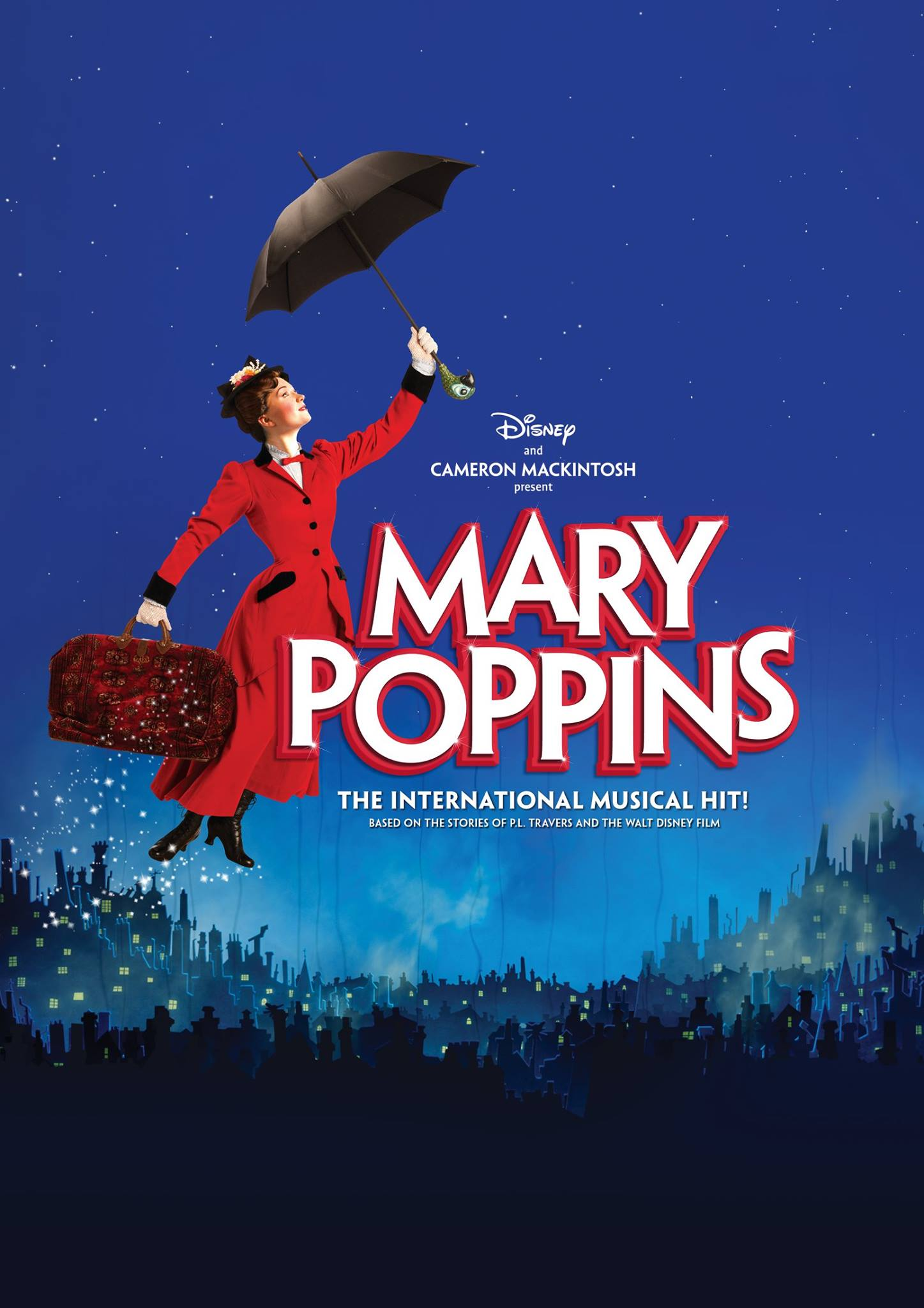 Mary Poppins Cheminée Mary Poppins Livret Julian Fellowes Musiques Richard M Sherman