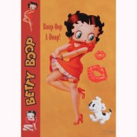 Vandor Betty Boop Life Size Wall Sticker 42 by 70-Inch ...