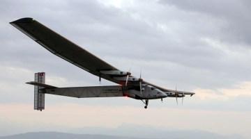 Самолет на солнечных батареях Solar Impulse 2 перелетел через Тихий океан