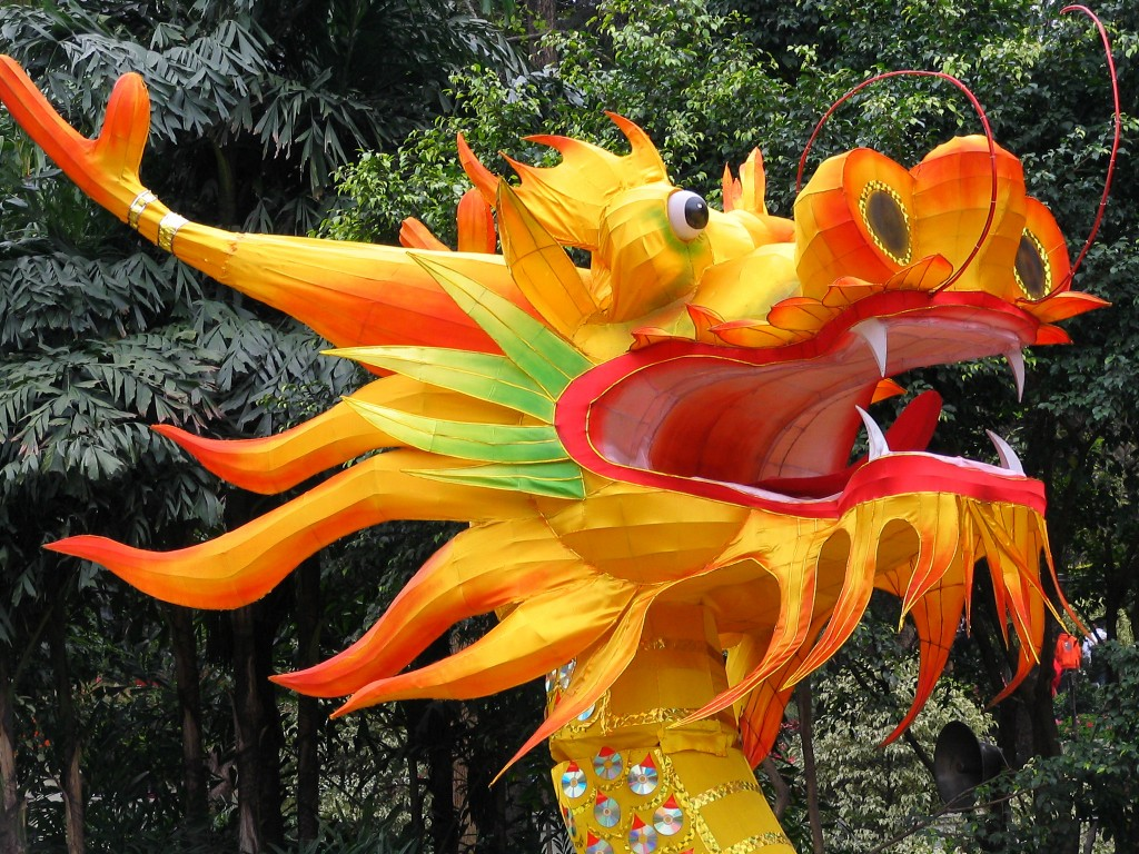 Chinese Dragon Decor Festival Spotlight Chinese New Year The Inside Track