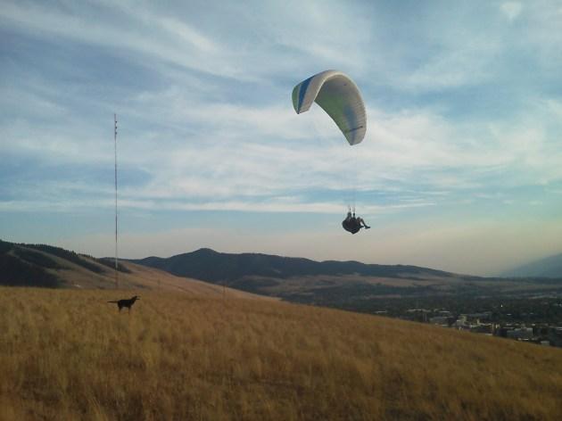 Abe - waterworks paragliding