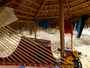 palapa in baja california on the horizon line blog