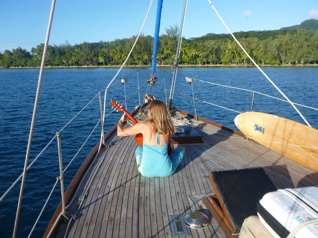 travel blog sailing polynesia