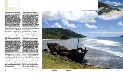 Anglers Journal - page 2 - Pacific Hitchhikers - Rob Roberts