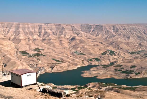 Wadi Mujib, Jordan's version of the Grand Canyon