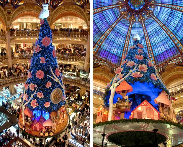 Galeries Lafayette Christmas decorations, Paris