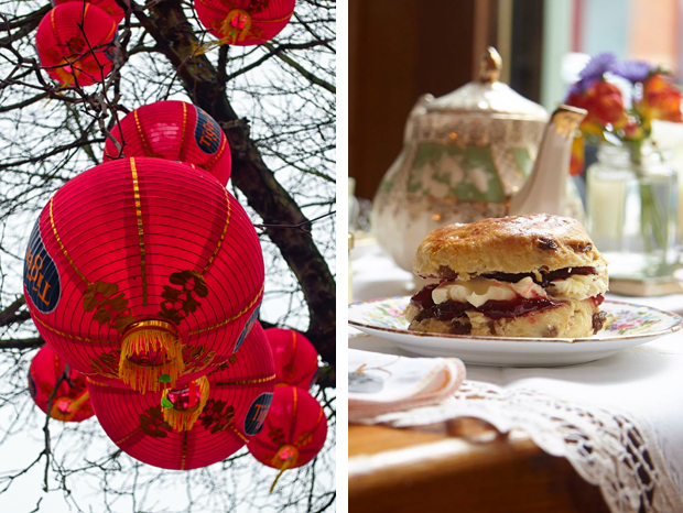 Chinese New Year and afternoon tea in Manchester