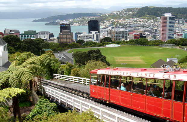 Wellington cable car, North Island, New Zealand