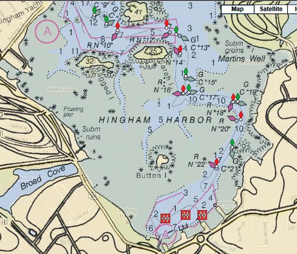 Today I went out from Hingham Harbor\u2026 On the North River
