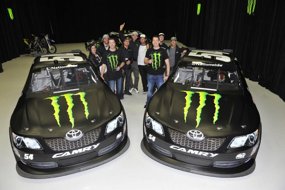 Monster Rally Car Wallpaper Monster Energy On The Pit Lane