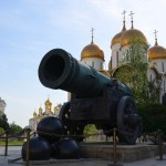 on the road to moscow - russia-tsar cannon & bell