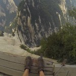 On the road to the sacred mountains - Hua shan-13