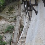 On the road to the sacred mountains - Hua shan-3