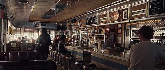 I Origins Film Locations - On the set of New York
