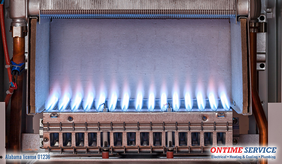 Furnace Flame Tips Correct And Incorrect Flame Colors