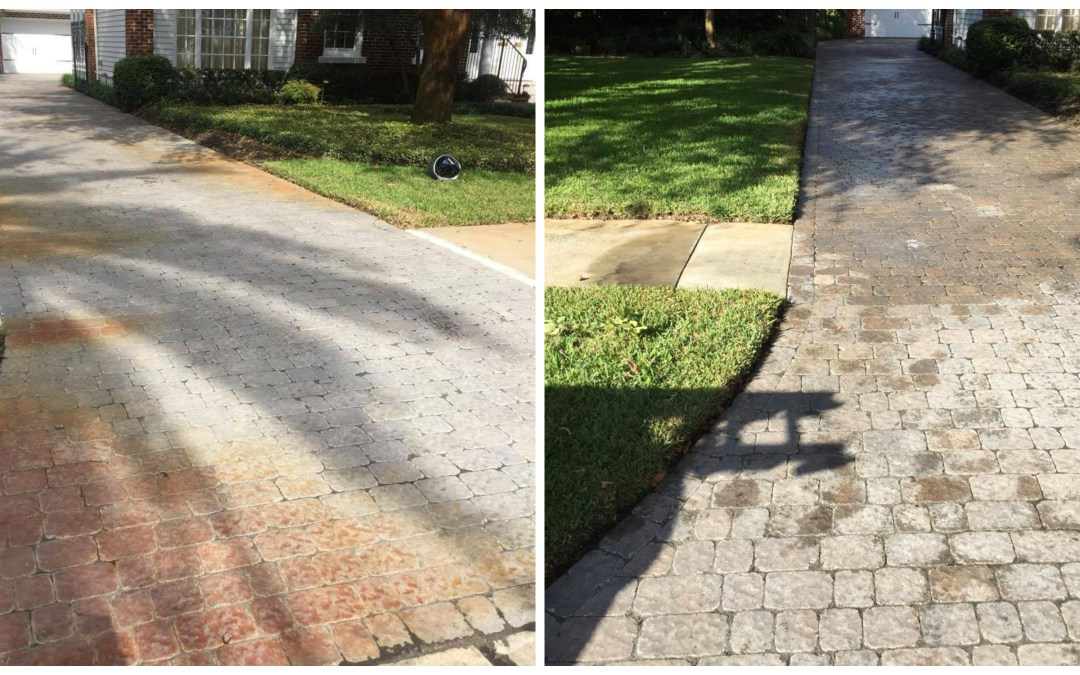 Rust Removal Pavers South Tampa