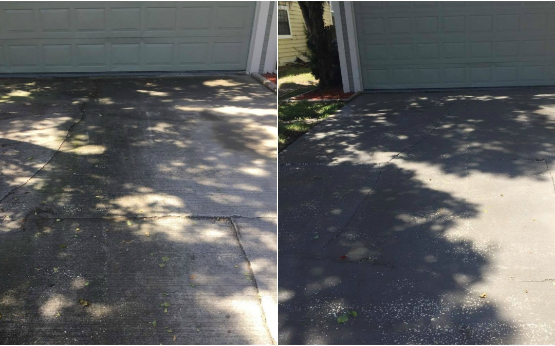 Driveway and walkways cleaning Valrico FL