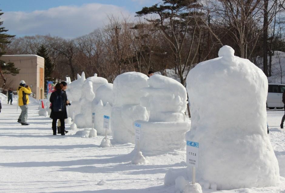 0101(イベント)雪と氷の祭典 ミニ雪像