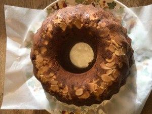 甘夏のケーキ