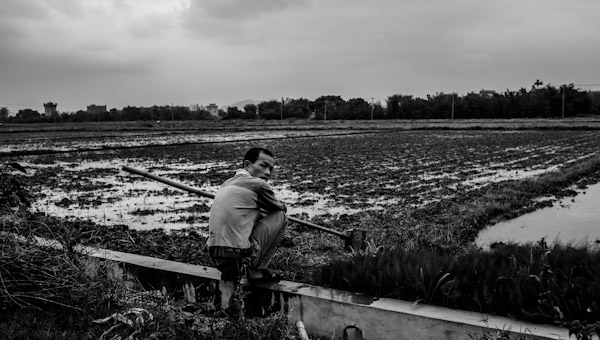 A farmer in Kaiping