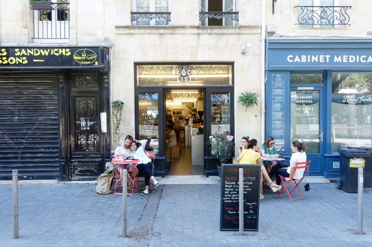 Black List Bordeaux Bordeaux Explored By Cafés Book Shops And Copper Street Lamps