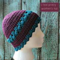 I Feel Pretty - Women's Crochet Hat